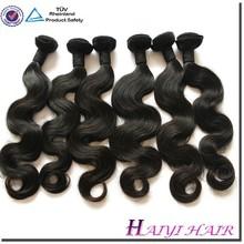 Brazilian Human Hair wavy hair weave russian