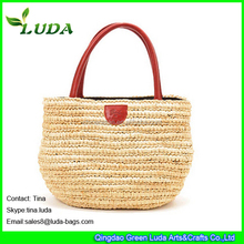 LUDA Fashion Hot Sale Paper Straw Handbag online