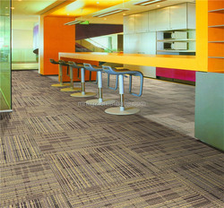 wholesale Good Quality Durable Pvc Backing Nylon PP Carpet Tiles For Commercial Office Decoration