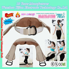 F-718B Health care factory massage shoulder belt with humanized unique to eliminate fatigue stress promote the blood circulation