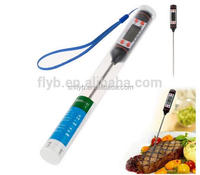 best quality TP101 LCD display digital food meat thermometer pen type with probe needle for bbq on sale