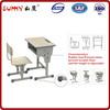 single / wooden / adjustable school desk