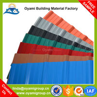 2.0mm thickness excellent weatherability clear roof tiles