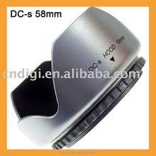 Mennon 58mm Plastic screw mount flower shape lens hood for digital camera lens