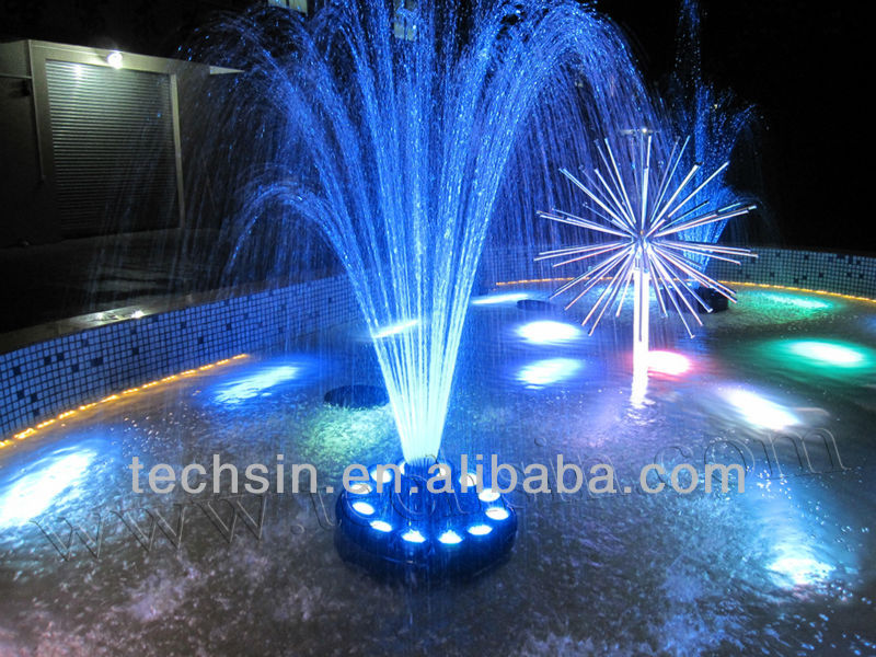 water fountain fountain led light view fountain lighting pond light