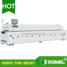 obsmt-8,10,12 zones SMT automatic lead free pcb board reflow soldering machine