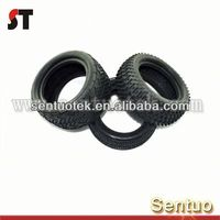 Rubber Tires for Nitro Gas RC Car