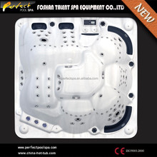 CE certification 6 person commercial balboa hot tub with sex masage tube