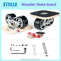 2015 new products 2 wheels drift skateboard, Wooden skate board with tools, roller
