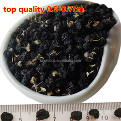 Hei gou qi organic fruit for Barbary Wolfberry Fruit Import Organic Goji Berries