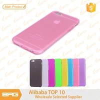 """BRG New Arrival Case For iPhone 6,Candy Colors Soft Bumper TPU Silicon Phone Case For iPhone 6 4.7"""""""