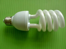 T4-HS-23W cfl light/12v cfl/12v dc cfl bulbs half spiral savng lamb