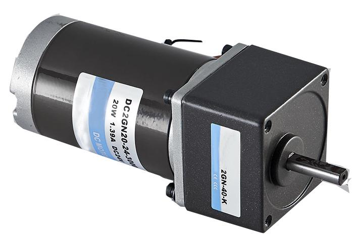 Small Geared Variable Speed Dc Motor 12v 20v 36v 48v 90v