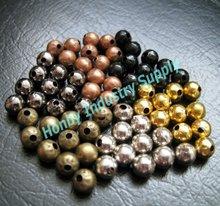 2012 Fashion Jewelry Loose Metal Hollow Beads
