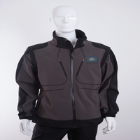high quality windproof softshell fleece jacket with UNI EN ISO 13688