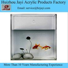 Wholesale acrylic fiber fish aquarium tank/plastic floating fish aquarium