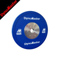 Customized color rubber olympic weight