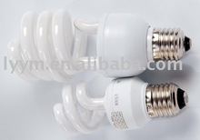 half-spiral compact fluorescent lamps