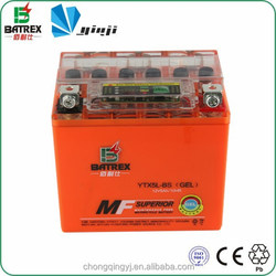 Lead Acid Chinese Motorcycles 12v 5ah Two Wheeler Battery