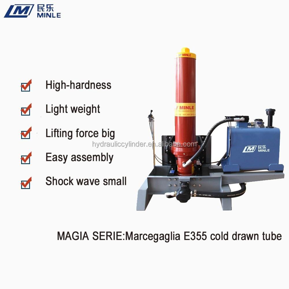 Hydraulic Lift Tubes : Hydraulic lifting system for tipper truck buy dump