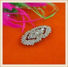 Fashion decorative Bridal beaded crystal rhinestone appliques wholesale