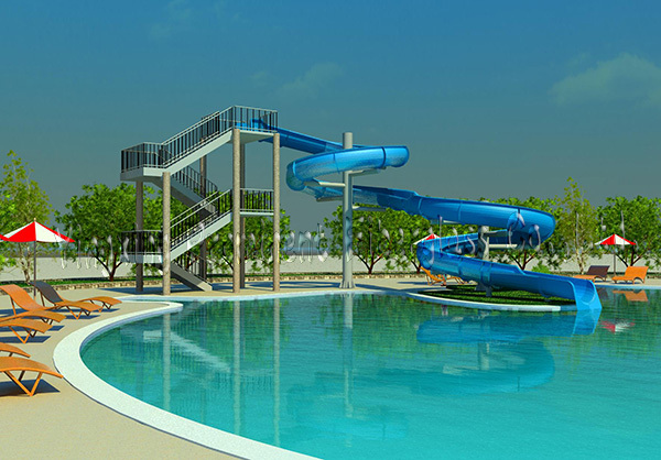 Best Swimming Pools Product : Best sale simple swimming pool tube slide