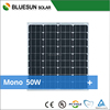 Bluesun most popular cheap price mono 50w solar panel