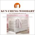Marfim da cor de madeira de pinho berço/eua popular berço de madeira