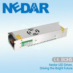 ND-200-24 LED Switching Power Supply 200W 24V 8.3A Constant Voltage IP20 Strip Lighting Drivers