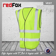 roadway protective high visibility reflective vest