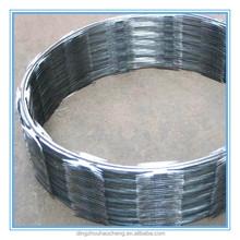 China Factory razor wire installations