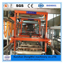 Rack/hanging plating equipment for auto part electroplating