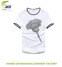 bulk custom printing plain crewneck men t shirt made in chian 2015 white t shirt/t-shirts