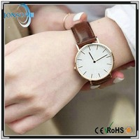 Hot selling stainless steel case japan movement 3ATM fashion playboy quartz watch