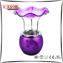 Manufacture supply Electric candle holder,glass candle warmer