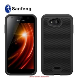 Free sample fashion style football cell phone case for Kyocera Hydro Wave C6740