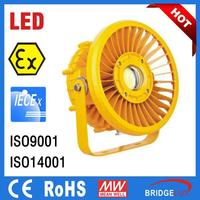 ATEX IECex approved IP66 explosion proof led lights for hazardous lighting environments
