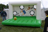 Cheap Inflatable Soccer Fever Shooting,Inflatable Sport Games M6018
