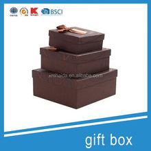 gift tin for packaging chocolate gift box