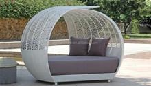 living room furniture balcony furniture rattan leisure sofa bed