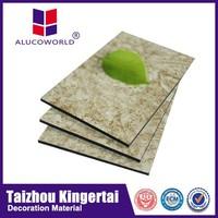 Alucoworld eps panel sandwich /brushed finish aluminum composite sheet