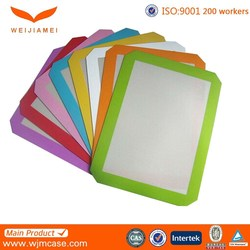 hot sell non-stick silicone baking mat set, 16 5/8 x 11