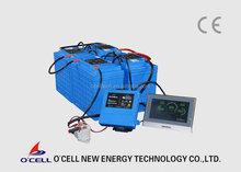 48 V Lithium ion batteries, 48V110Ah, LiFePO4 Battery Pack for EV