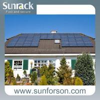 Solar panel mounting aluminum rail in Solar Energy System
