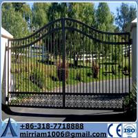 Wrought Iron Metal gate\Palisade garden gate(manufacturer)