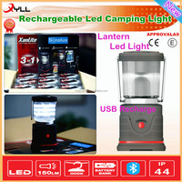Outdoor working lantern led light camping lantern led light solar panel flood led light