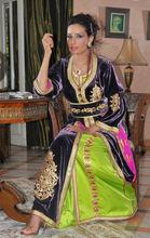 High quality Wholesale chiffon moroccan fabric for kaftan dress jilbab hijab k1415