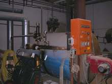 HOT OIL BOILER, Production Hall Heating System, USED