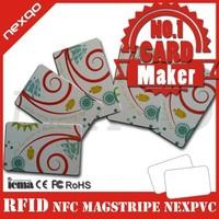 smart barcode card/smart rfid pvc card/smart key rfid card