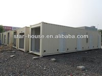 Stackable Portable Container House steel cabin house solution
